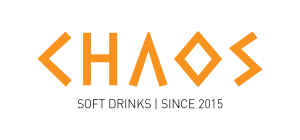 Chaos soft drinks - Logo